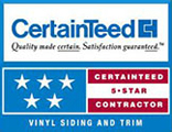 CertainTeed - 5 Stars - Christian Siding