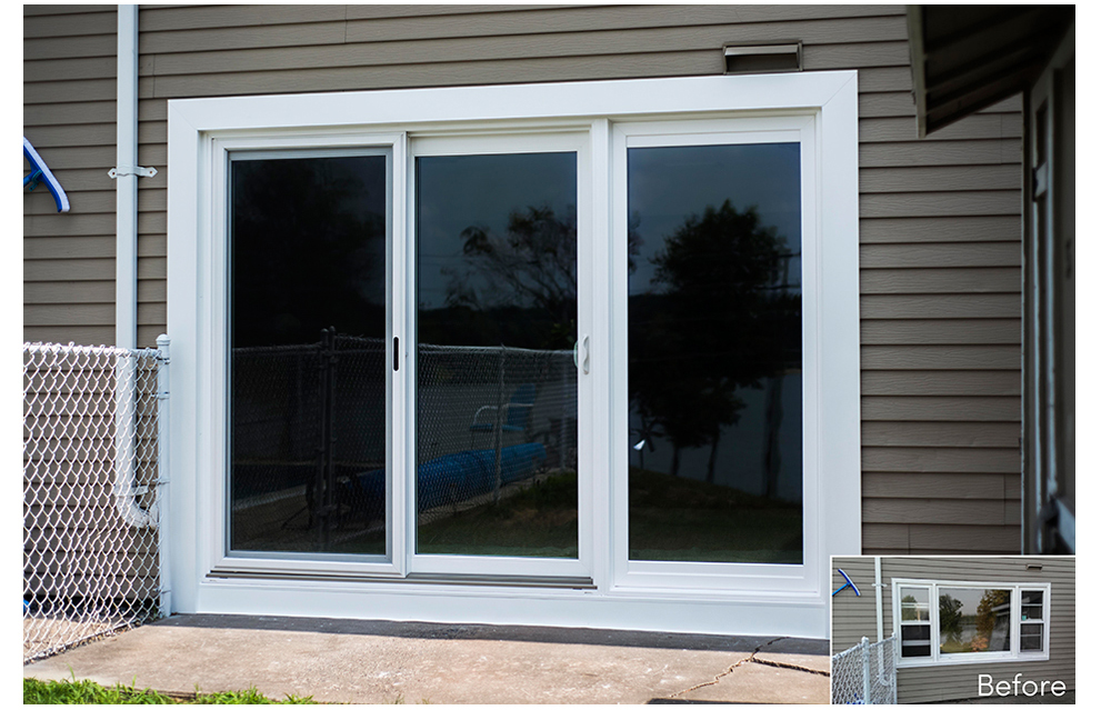 Doors christian siding for Outside sliding glass doors